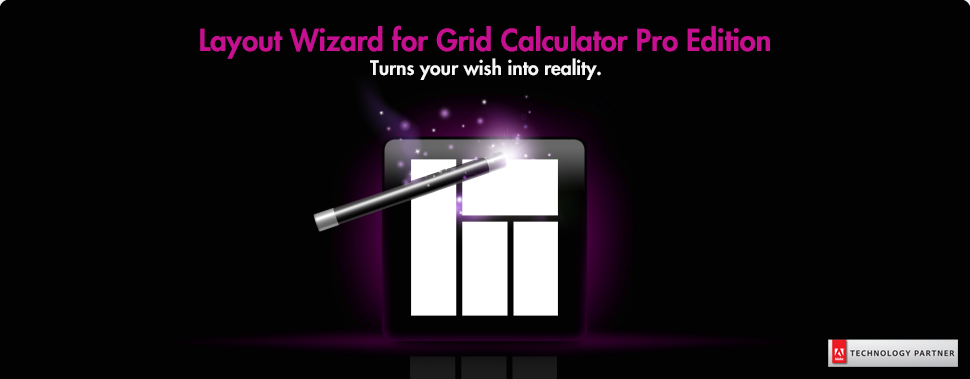 Layout Wizard for Grid Calculator Pro Edition